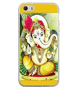 Ganpati 2D Hard Polycarbonate Designer Back Case Cover for Apple iPhone 4