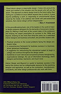 Interior Design and Beyond: Art, Science, Industry by Diane Pub Co