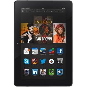 """Kindle Fire HDX 8,9"""" (22,6 cm), écran HDX, Wi-Fi, 32 Go - avec offres spéciales (Précédente Génération - 3ème)"""