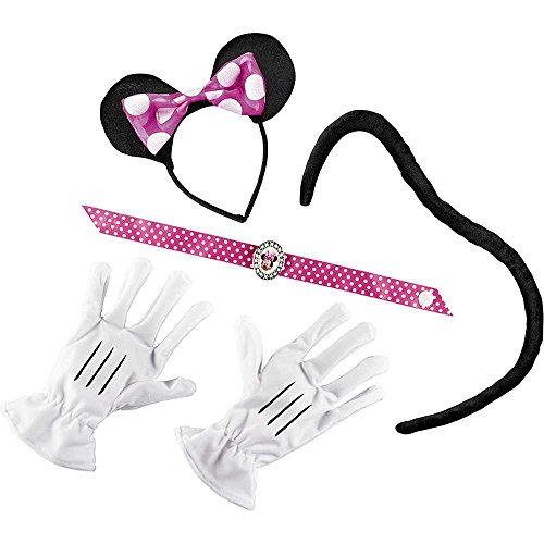 Pink Minnie Mouse Adult Costume Kit - One Size
