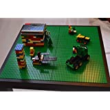 """LEGO PLAY TABLE - COMPATIBLE WITH LEGO, DUPLO & MEGABLOCKS. PERFECT SIZE FOR APARTMENTS & WHEN SPACE IS LIMITED 21 5/8""""W X 21 5/8""""L X 18""""H"""