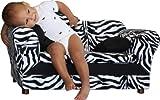 Fantasy Furniture Wave Sofa, Zebra