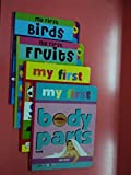My first Fruits+Birds+Shapes+Body Parts Books (Set of Books (4))