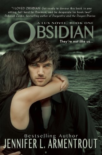 Cover of Obsidian (A Lux Novel)