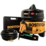 BOSTITCH Factory-Reconditioned U/CPACK1850BN 18-Gauge Brad Nailer and Compressor Combo Kit