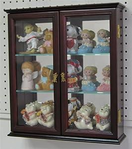 Wall Mounted Curio Cabinet Wall Display Case Shadow Box