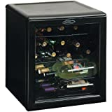 Danby DWC172BL 1.8-Cu.Ft. 17-Bottle Counter-Top Wine Cooler, Black