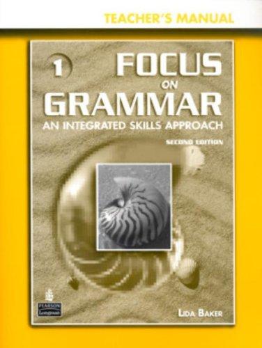 Focus on Grammar 1 Teacher's Manual + CD-ROM w/ PowerPoint Presentations