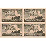 Immortal Chaplains Set of 4 x 3 Cent US Postage Stamps NEW Scot 956