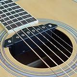 SH-85 Acoustic Guitar Soundhole Pickup with Power Jack Passive