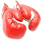 New 1 Pair of Youth Red 6oz Boxing Gloves For Kids