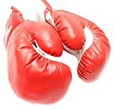 1 Pair Red Youth 8oz Kids Boxing Gloves Punching Gloves