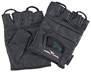 Precision Training Leather Weightlifting Gloves, S [Misc.] by Precision Training