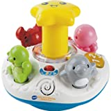 Distinctive VTech Spin and Discover Ocean Fun with accompanying Set of 10 KiddiSafe Door Stoppers