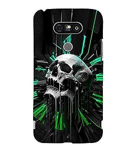 EPICCASE Skull Clock Mobile Back Case Cover For LG G5 (Designer Case)