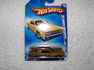 hot wheels 64 lincoln continental 2009 04 10. Black Bedroom Furniture Sets. Home Design Ideas