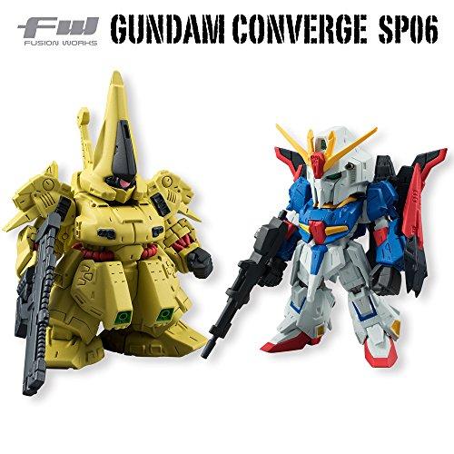FW GUNDAM CONVERGE SP06 Z Gundam & di/o single pieces (shokugan food / gum)