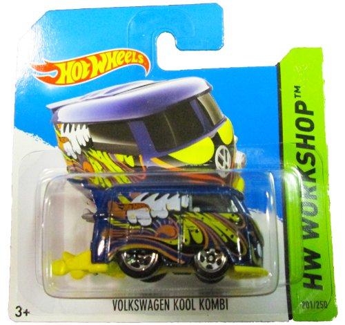Hot Wheels - 2014 HW Workshop 201/250 - Volkswagen Kool Kombi (blue/yellow) - 1