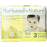 Nurtured by Nature Environmentally-Sensitive Diapers, Jumbo Size 3, 124 count (Pack of 4)