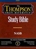 Thompson Chain Reference Bible (Style 610black) - Regular Size NASB - Genuine Leather