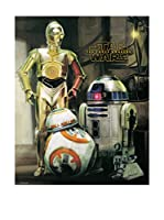 ArtopWeb Panel Decorativo Star Wars Episode Vii Droids