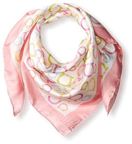 Salvatore-Ferragamo-Womens-Patterned-Scarf-Rosa