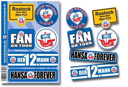 F.C. Hansa Rostock Aufkleberkarte