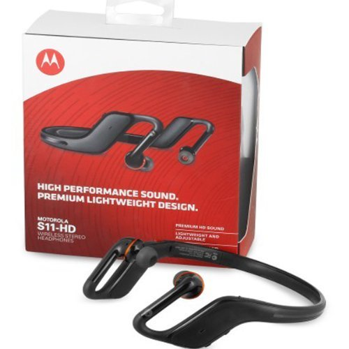 Motorola S11 Hd Wireless Stereo Headphones - Retail Packaging - Black