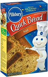 Pillsbury Nut Quick Bread, 15.4-Ounce Boxes (Pack of 12)