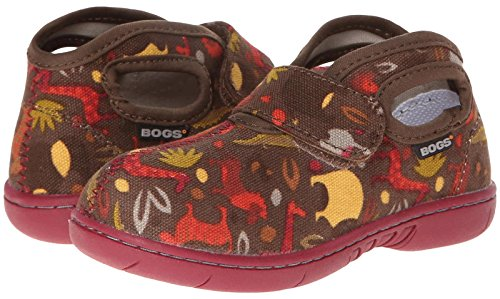 Bogs Baby Bogs Mid Canvas  - Brown Multi - 4 M Inf