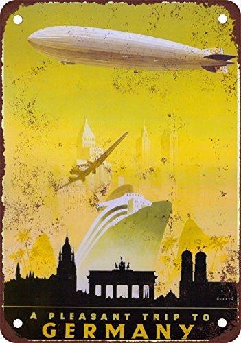 guerra-tedesca-da-viaggio-stile-vintage-riproduzione-in-metallo-tin-sign-203-x-305-cm