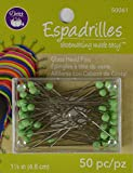Dritz 50 Count Espadrilles Glass Head Pins