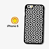 Vintage Retro Pattern Black case for iPhone 6 951C