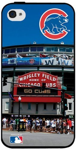 MLB Chicago Cubs Iphone 4/4s Hard Cover Case #2 at Amazon.com