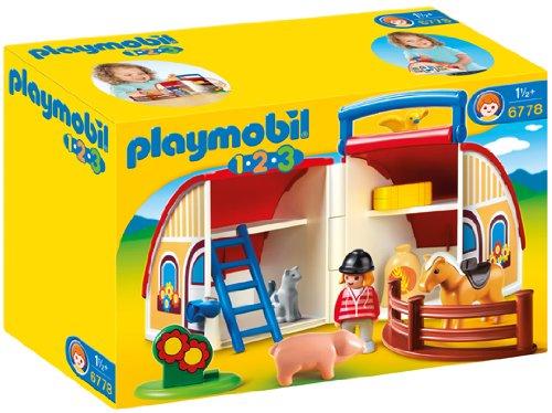 para los ms pequeos entre y aos la marca lanz la etiqueta playmobil con juguetes ms simples pero con la misma calidad de siempre y un