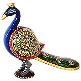 National Handloom Wooden Peacock Show Piece