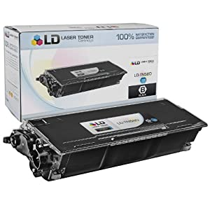 LD Compatible Brother TN580 High Yield Laser Toner Cartridge - Black