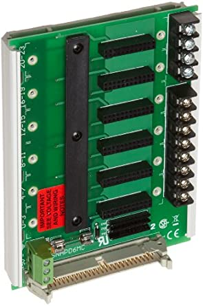 Opto 22 SNAP-D6MC Snap D-Series 6 Module Rack with Extra Terminal Block