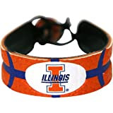 NCAA Illinois Illini Team Color Basketball Bracelet at Amazon.com