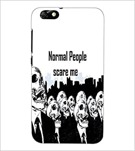 PrintDhaba Quote D-3743 Back Case Cover for HUAWEI HONOR 4X (Multi-Coloured)