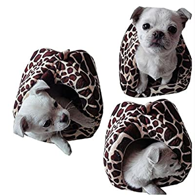 Xinyuan Lovely Soft Plush Sponge Strawberry Pet Dog Cat Rabbit Bed House Kennel Point Plastic Non-slip