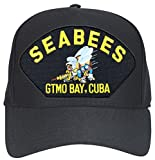 SEABEES with Bee GTMO Bay Ball Cap