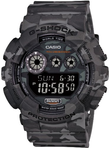 Mens Casio Watches G-Shock Camouflage Series Gd-120Cm-8Jr Japan front-766674