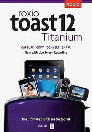 Roxio Toast 12 Titanium Mac [Download]