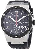 Esprit Collection Herren-Armbanduhr XL Phorkus Black - Swiss Made Chronograph Quarz EL101001S01