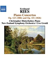 Ries: Piano Concertos, Vol. 1