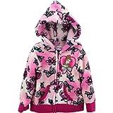 Disney Girls 2-6X Belle Printed Fleece Hoodie