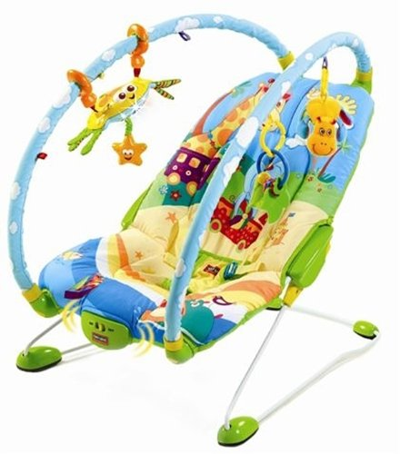 Tiny Love Gymini Bouncer, Azul / Amarillo