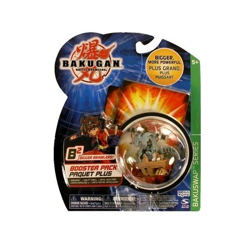 Bakugan Battle Brawlers: Bakuswap Haos/ Subterra (Grey & Tan) Delta Dragnoid II Booster Pack - 1