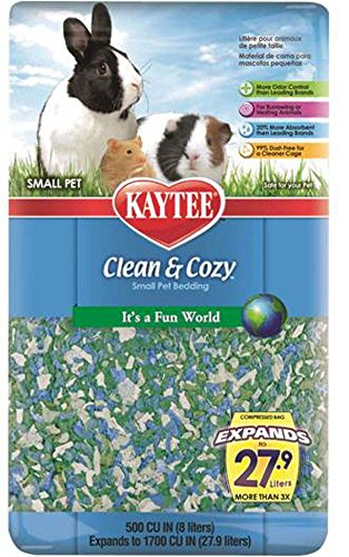 Kaytee Clean and Cozy Small Pet  Bedding, Feeling Groovy, 500 cu.in. 51biLW1VH2L